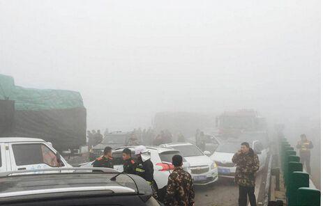 团雾的危害